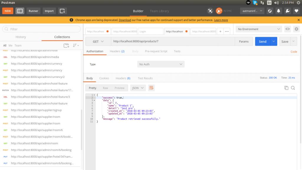 Product Show API